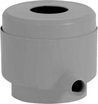 Vulautomaat Eco voor ronde regenpijpen met diam. 7 tot 10cm en dakopp. Van max 50m² - grijs