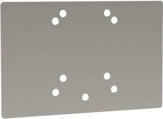 Kerbl Montageplaat voor IBC-container 275 x 175 mm