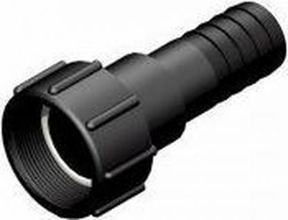 "IBC Adapter S60x6 > 1""1/4 (32mm) Slangtule - Roterend (Polypropyleen)"