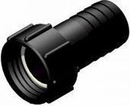 "IBC Adapter S60x6 > 2"" (50mm) Slangtule - Roterend (Polypropyleen)"