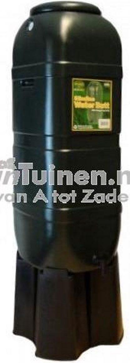 Regentonset Slimline 100L groen incl. voet
