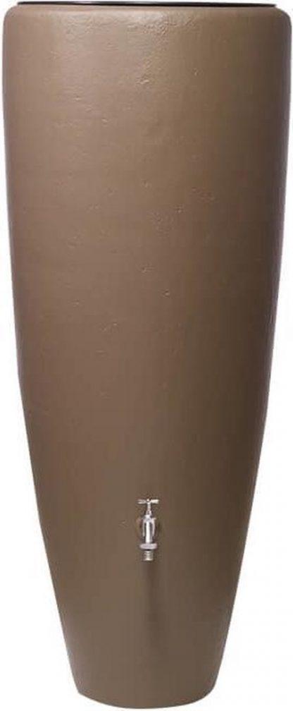 Garantia Regenton + Plantenbak 2 in 1 Taupe 300 liter