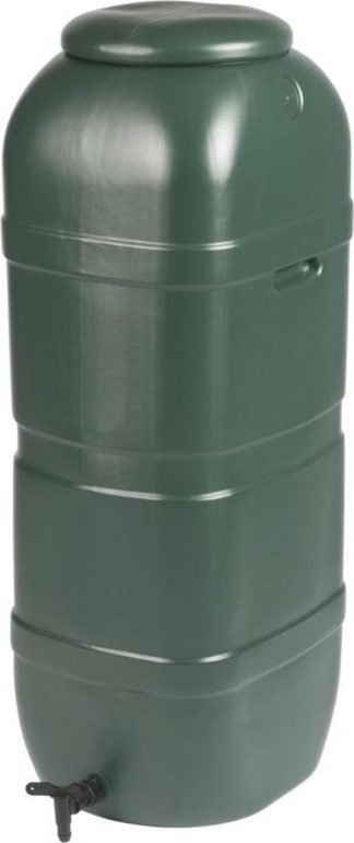 Regenton Slimline 100L groen