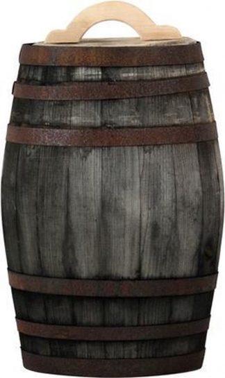 Regenton 50 liter oud gemaakt met handvat