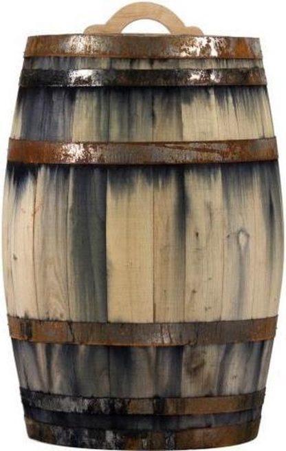 Regenton Vino (wijnvat look) 250Liter met kraantje