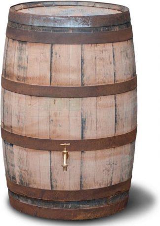 Meuwissen Agro Regenton 195 liter - Oud Whisky vat - Geschuurd