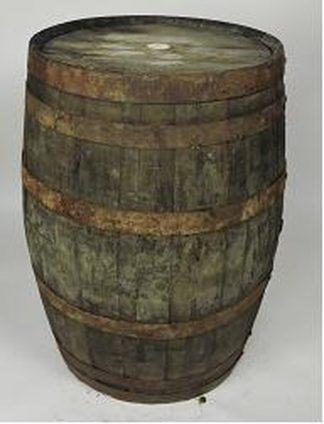 Whisky vat 195 liter oud